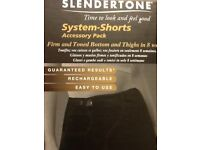 SLENDERTONE SYSTEM-SHORTS Accessory pack SIZE M BRAND NEW