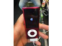 IPOD NANO 5TH GEN - PINK - 8GB - £45