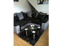 Black & Grey Sofa Suite