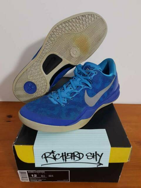 footwear superior quality online shop info for 89ced 930ac nike kobe 8 blue coral snake ...
