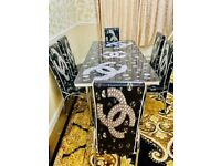 BRAND NEW TURKISH DININGTABLE with CHAIRS IN MEGA SALE. ✈✈🚚🚚🚚