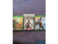 2 xbox one and 1 ps2 game.