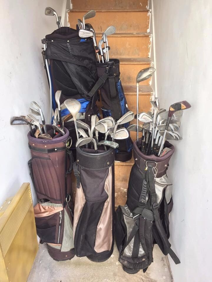 Golf Clubs (Bags Included)