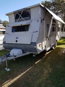 """Coromal caravan pop top 17ft 6"""" full annex single beds 2007 Grafton Clarence Valley Preview"""