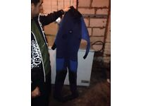 Diamond dry suit , diving suit size L