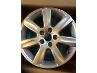 VW polo 15 inch alloy wheel