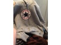 converse hoodie size large