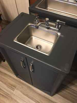 Portable Sink Nsf Mobile Handwash Sink Self Contained Hot Water. 120v..