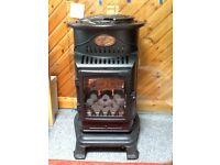 calor provence wood burner lookalike fire new used twice