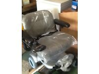 POWERBASE silver electric wheelchair
