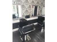 Rooms to hire be beautiful salon stourbridge busy location