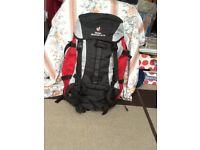 DEUTER AIR CONTACT 55 + 10 LITRE BACK PACK (price reduced)