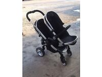 ICANDY PEACH twin pushchair, nearly new, excellent condition.