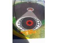 10 ft trampoline/ used but in vgc