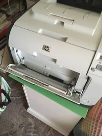 HP Laser Jet Printer for sale - collection only. Colour printer and comes with a spare set of inks
