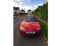 Selling my convertible Mazda MX5, Low mileage, Long MOT, Full service history!