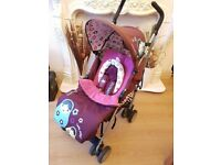 Cosatto Hello Dolly Stroller With Footmuff And Raincover !!!