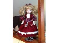 Victorian collection porcelain dolls