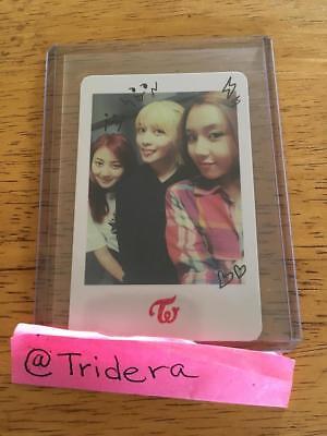 Twice The Story Begins 1st Mini Album Group Photo Card, Jihyo, Momo, ChaeYoung
