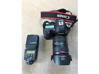 Like new Canon 5d mkiii with 24 to 70 mm f2.8 mkii