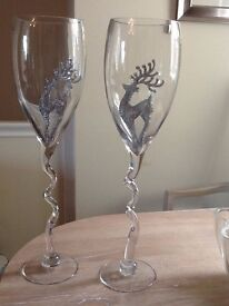 Fantastic Giant Champagne Glasses