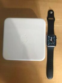 Apple Watch, 1st gen , stainless steel model , 42mm , great condition ! Price stands, no offers !