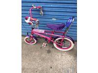 Girls Raleigh Funky Diva chopper bike