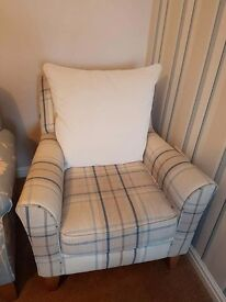 Leather Sofa, 2 chairs and accessories bundle