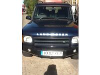Land Rover discovery 2.5 TD5 02 Reg