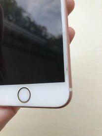 Rose gold iphone 6s, 16GB