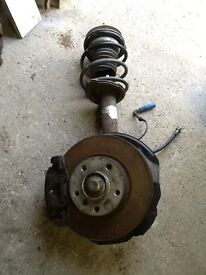 BMW e46 318ci coupe convertible front suspension leg complete with brakes