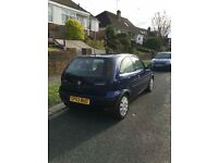 Vauxhall Corsa 1.2 2003 Reg 103,000 miles & brand new MOT!
