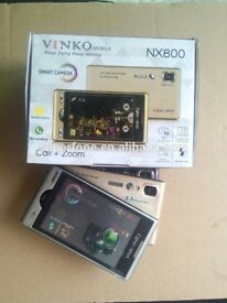 "Vinko NX800 dual sim 3.5"" touch screen, memory card slot. Black mix"