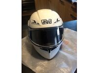 AGV Compact flip front helmet used 3 times, 6 months old