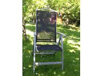 2 xReclining garden chairs