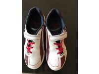 Clarks Childrens Award Leap Trainers(size 2f)