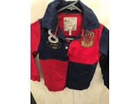 Joules boys rugby top
