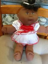 BLACK A A Cabbage Patch Doll with Navy signature by Mattel South Tamworth Tamworth City Preview