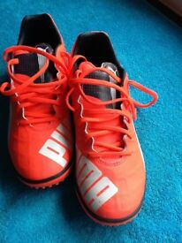 Puma evospeed4 Boots size 8 (worn once)