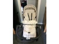 EMMALJUNGA PRAM AND CARRY COT