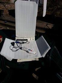 Mobility swivel remote bath chair