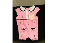 Rock a Bye Baby Playsuit