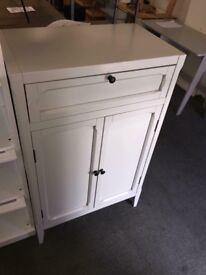 Eugénie 2-door 1-drawer armoire ,Light Grey