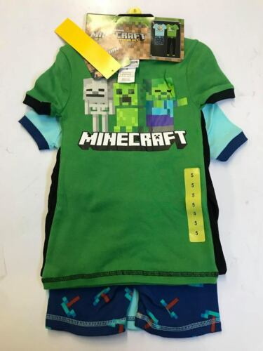 NEW Komar Kids Boys 4 Piece Pajama Sleepwear Set- VARIETY