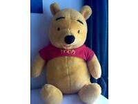 Giant Winnie the Pooh and Tigger teddies for sale