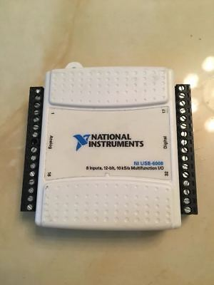 1pc National Instruments Usb-6008 Data Acquisition Card Ni Daq Multifunction