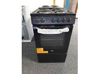 Bush BESAW50B 50cm Single Electric Cooker - Black