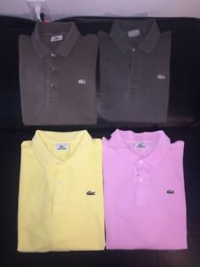 Polos Lacoste 19$ Chaque