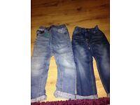 Boys next jeans bundle age 6