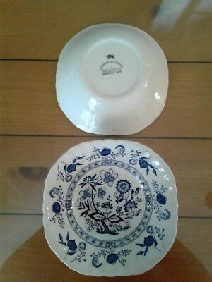 Johnson Brothers Blue Nordic pattern 6 inch bowl